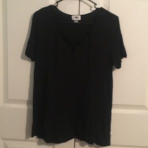 Old Navy lace up t shirt